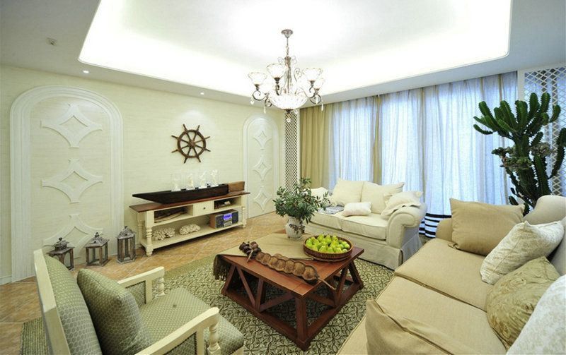 重庆交换空间装饰公司项目案例龙湖枫香庭《简欧风格》