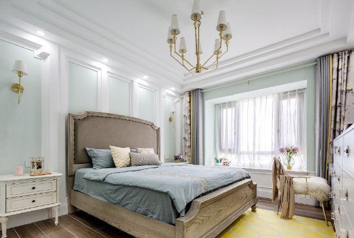 项目案例【佳天下装饰】清新简约美式风格家居设计